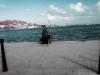 Retrato en el malecón de  La Habana