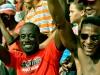 Cada partido es todo un espectáculo que la gente disfruta y además los acompaña repitiendo sus dichos.
