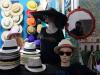 Panama hats in Cuba