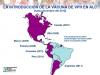 Vacunación en América Latina.