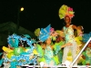 Desde la Avenida hasta Paseo, atravesando todo los Maceo, con un colorido y alegre vestuario las pequeñas hicieron gala montadas en la carroza.