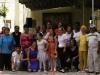 0030 Los participantes del proyecto Pétalos de amor con sus familiares y profesoras.