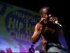 Anderson Real (Cuba)  Simposio de artistas del hip hop cubano.  Foto: Jorge Luis Baños/IPS