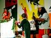 msc_00556 Los chicos Tan Tostao con la puesta en escena de la más reciente versión de la obra Romeo y Julieta.