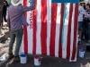 Arte en el campamento de inmigrantes en la frontera de EE.UU. con México