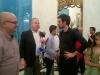 Alan Lopez,Andrea di Maio, y el musico Frances, Ronan Khalil