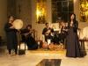 Reinaldo Ponce, voz y Percusión, Elisa Gelabert, voz, crótalo y danza