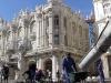 Labores de remodelación en la vía central del Paseo del Prado.