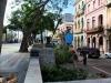 Empresa de Comunales en la poda de árboles en el Paseo del Prado