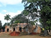 """Este es el único edificio que queda de la hacienda que alguna vez fue una rica productora de azúcar y traficante de esclavos. Una asociación local de historiadores y \""""aficionados\"""" está tratando de restaurar la arquitectura original, a pesar de sus limitados recursos."""