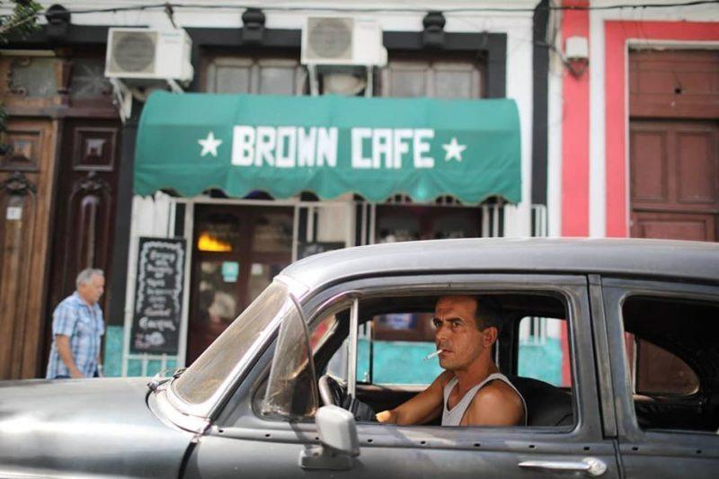 Brown-Cafe