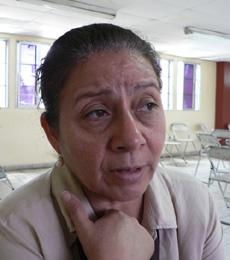 Bertha Oliva, photo: Giorgio Trucchi, rel-UITA