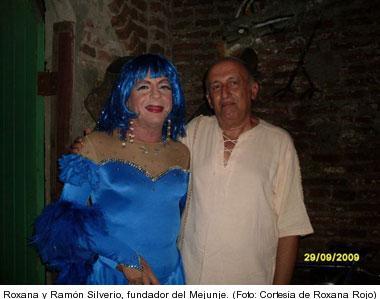 Roxana Rojo y Ramon Silverio, fundador de Mejunje.  Foto: cortesia de Roxanna Rojo a IPS.