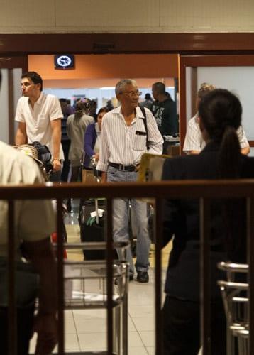 Llegando a La Habana. Foto: Juan Suárez