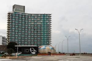 Havana's Riviera Hotel.  Foto: Juan Suárez