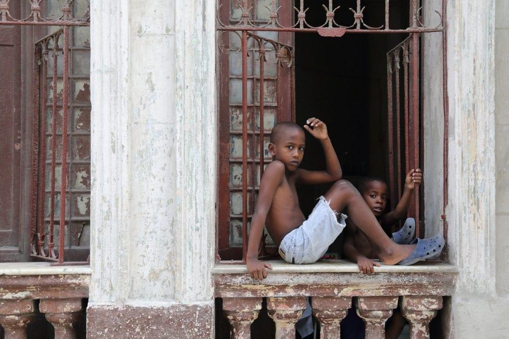 Niños. Foto: Juan Suárez