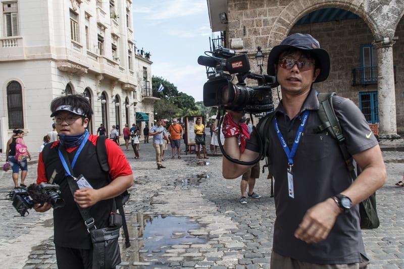 Turistas chinos. Foto: Juan Suárez