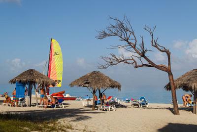Playa de Varadero.  Foto: Juan Suárez