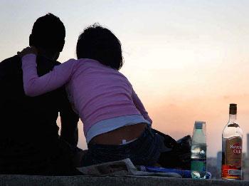 Alcohol romance.  Foto: Caridad