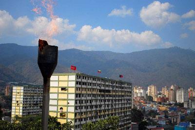 Caracas desde el barrio 23 de enero.