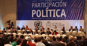 El foro tiene lugar en Bogotá.  Foto: agenciapulsar.org