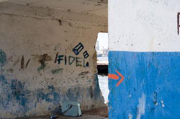Muro en La Habana.  Foto: Janis Wilkins