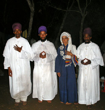 Rastafaris cubanos.