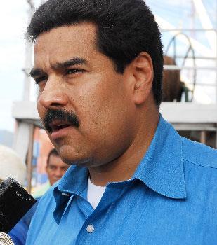 Nicolas Maduro.  Foto: Caridad