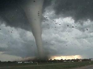Un tornado.  Foto/archivo: wikipedia.org