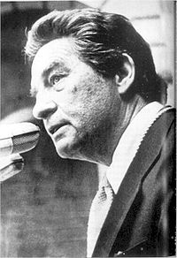 Octavio Paz.  Photo: wikipedia.org