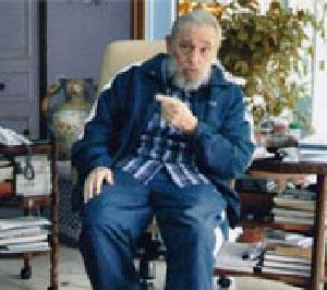 Fidel Castro back in April 2013.  Foto: cubadebate.cu
