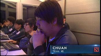Chuan, uno de los mejores jugadores del mundo.