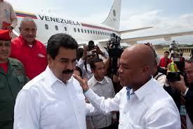 Nicolas Maduro y el presidente de Haiti, Michel Martelly