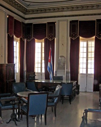 The former presidential office at what is now the Museum of the Revolution.