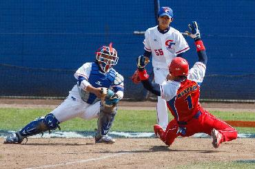 El corrido de Johan Moncada fue fatal para las aspiraciones cubanas en el 7mo episodio. Foto: baseballdecuba.com