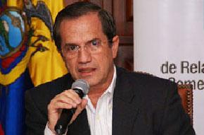 El canciller de Ecuador, Ricardo Patiño.  Foto. elciudadano.gob.ec