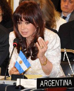 La presidenta de Argentina, Cristina Fernandez. Foto/archivo