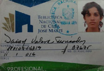 Carnet de la Biblioteca Nacional de Cuba