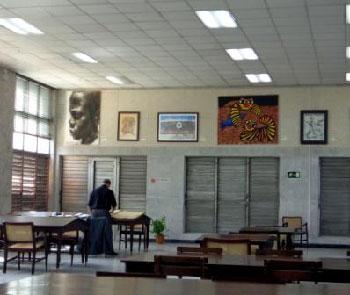Interior de la Biblioteca Nacional de Cuba