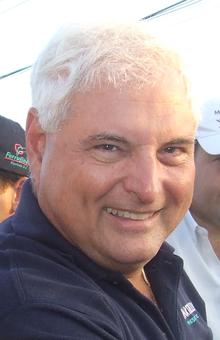 Ricardo Martinelli, presidente de Panamá.  Foto: wikipedia.org