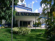 Edificio del periódico El Nacional.
