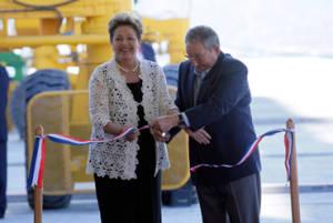 Dilma Rousseff y Raúl Castro inauguran Terminal de Contenedores de Mariel. Foto: Ladyrene Pérez/ Cubadebate
