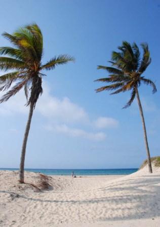 Playa cubana.  Foto: Caridad
