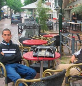 Ernesto Carralero in Holland.