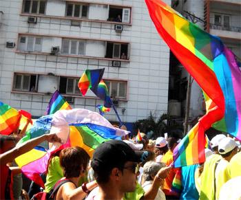 De uno de los días contra la homofóbia, celebrado anualmente en La Habana. Foto: Caridad