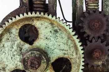 Viejo mecanismo.  Foto: Juan Suárez