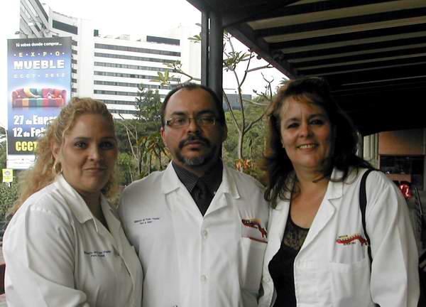 Médicos cubanos en Venezuela.  Foto: radiorebelde.cu
