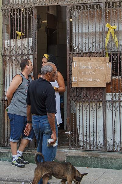 Una bodega cubana.