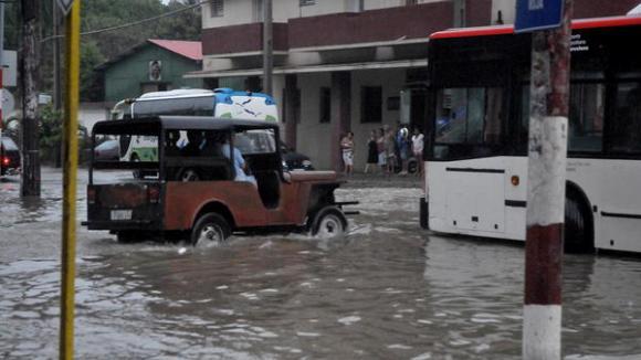 Inundaciones del miércoles 29 de abril.  Foto: Oriol de la Cruz / AIN