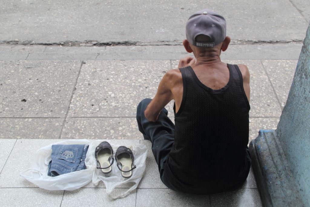 Después de una vida de trabajo.  Foto: Juan  Suárez
